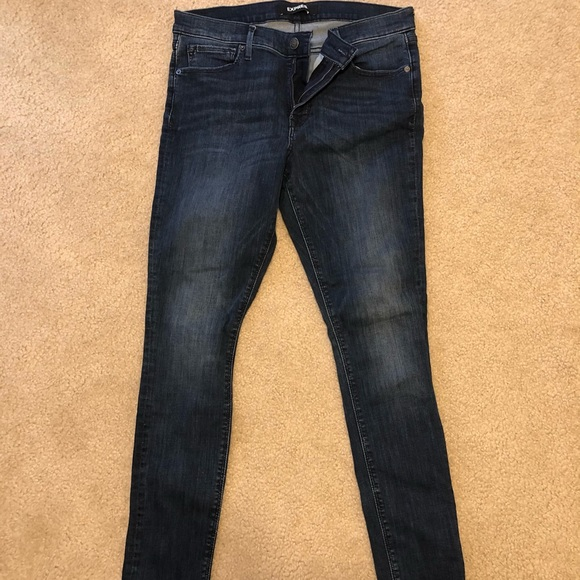 Express size 12R skinny jeans, worn 1 time!